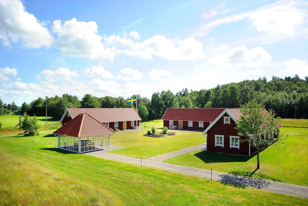 den vackra hall ndska landsbygden wohnungen zur miete in sl inge halland schweden. Black Bedroom Furniture Sets. Home Design Ideas