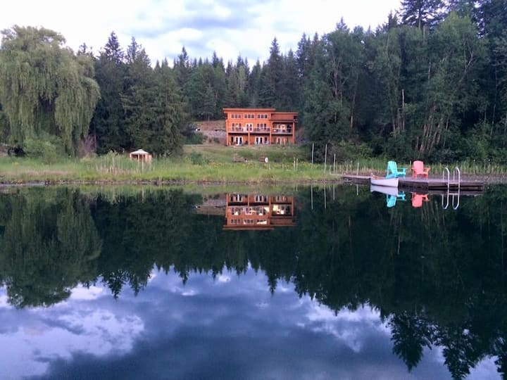 The Lake House - three luxurious suites available