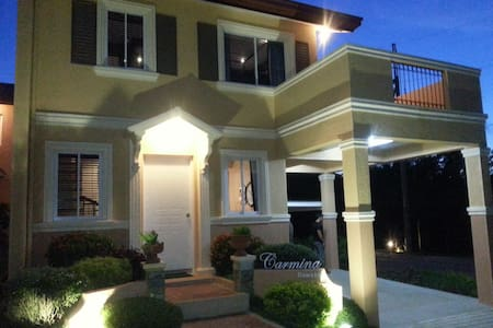 Private room with private CR+terrace in new house - Tagaytay