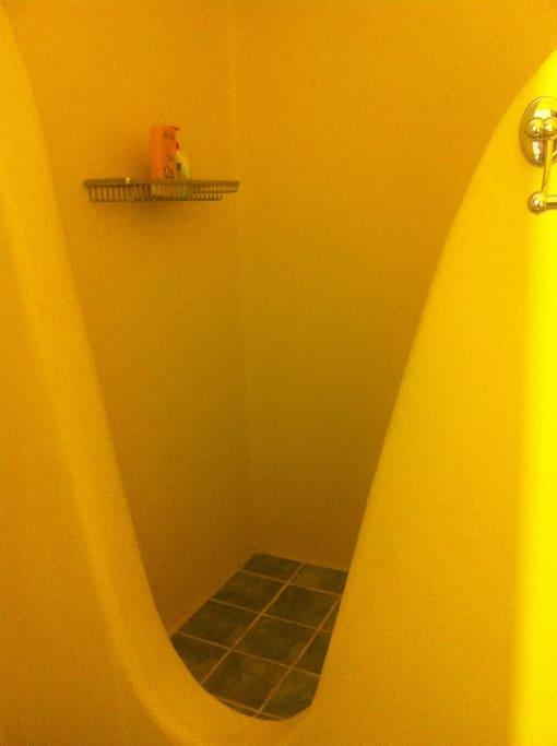 Douche à l'Italienne.