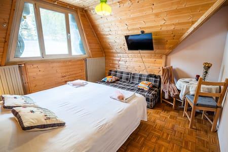 Cosy Double Room, Log Pod Mangartom
