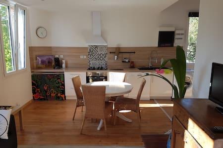 2 double bedrooms house, garden - Vittel - Rumah