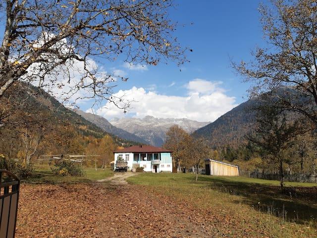 Elbrus farmhouse