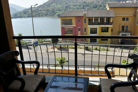Lavasa City - Spacious 1 BHK Lake View Apartment - Lavasa