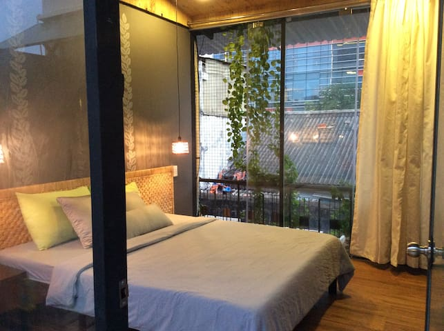 Stylish couple room in the Heart of Saigon