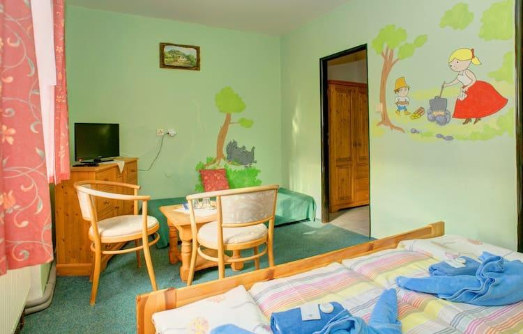 Medvědí pokoj pro 2 v Borovanském mlýně