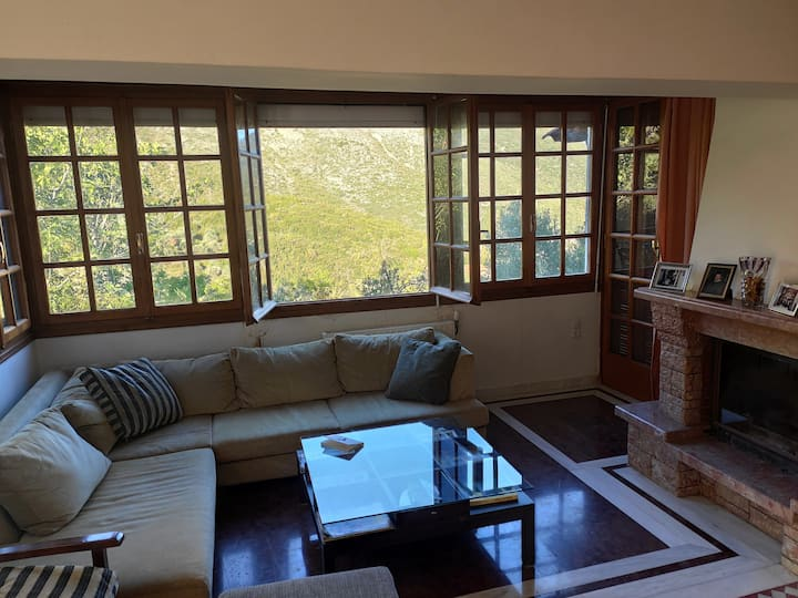 Beautiful villa in the Heart of Mt Taygetos