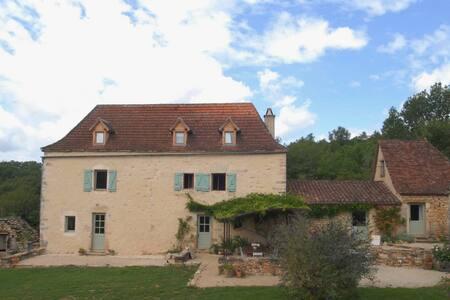Chambre Gîte du Mas de Redoulès, chambre familiale - Saint-Martin-Labouval