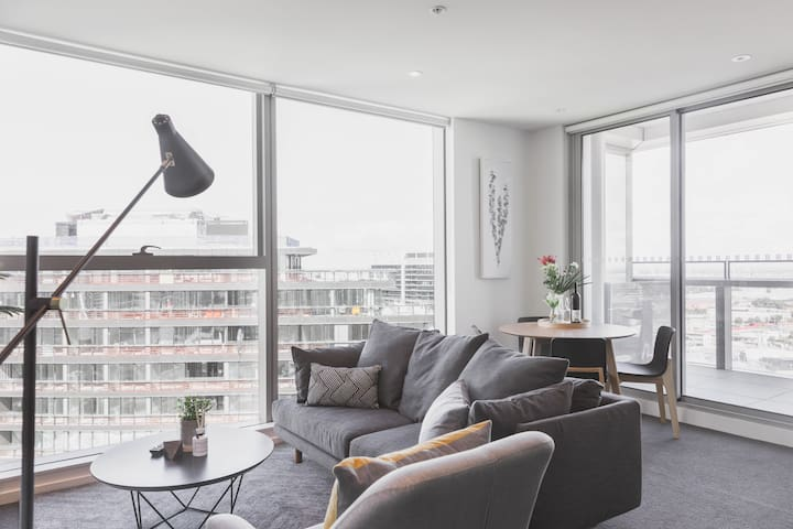 STUNNING 2B1B WATERVIEW HOME - Docklands - Appartement