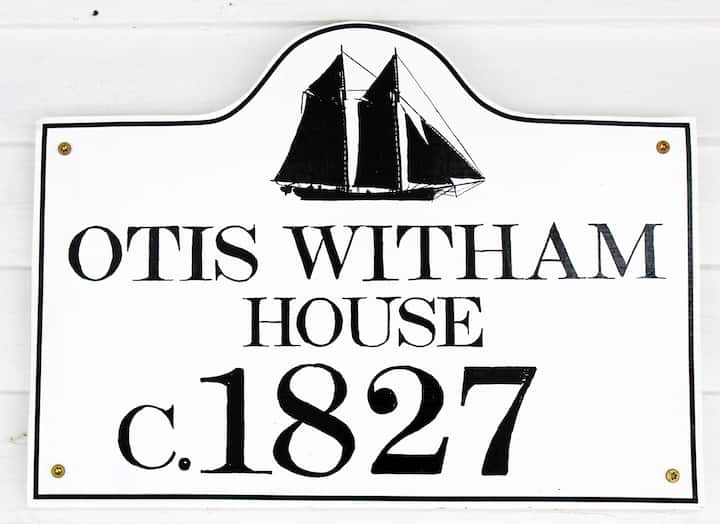Otis Witham House in the heart of Blue Hill Maine