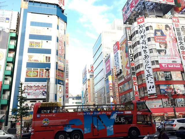 Wonderful Location/Akihabara/Free Pocket WiFi/I402