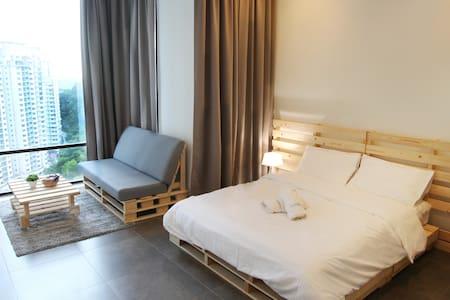 IKEA Damansara 10 Mins to D'msr Uptown 17th Floor - Petaling Jaya - Apartmen