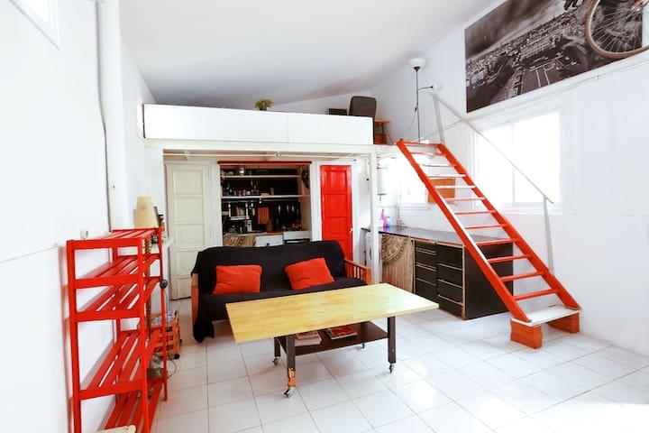 Acogedor Loft en centro de lavapies - Madrid - Loft