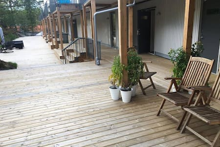 Complete 1 room Cozy apartment close to Nature - Handen - 公寓