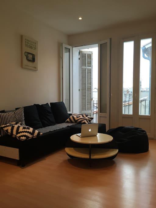 salon petite terrasse
