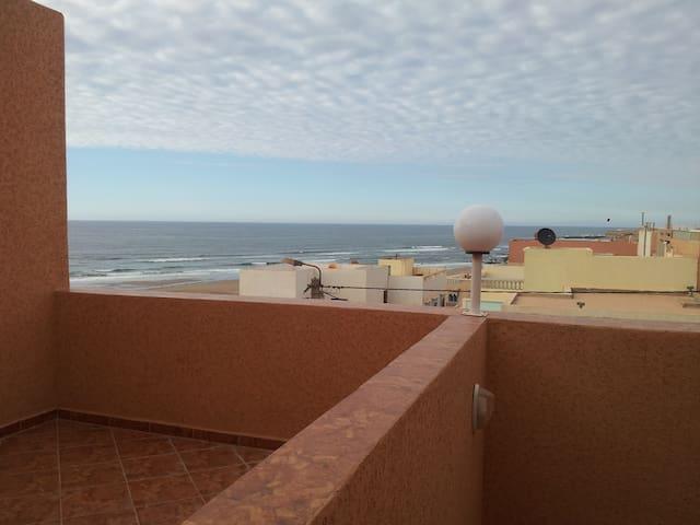 Appartement à AGLOU Plage vue sur la mer - Corniche Aglou - Pis