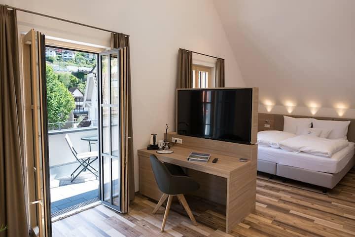 HOTELmyhome, (Hornberg), Suite 39qm für 1-4 Personen