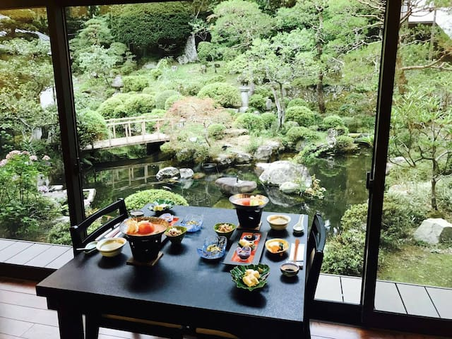 Kakurinbo ~ Buddhist temple lodging (w/breakfast)