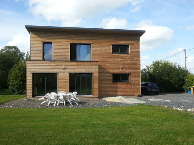 Maison bois au calme avec terrain - canteloup - Dům