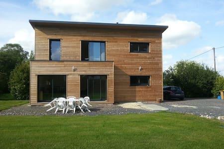 Maison bois au calme avec terrain - canteloup