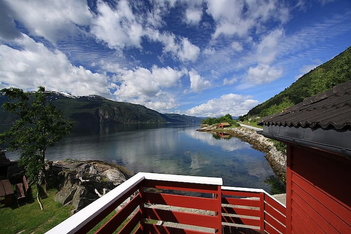 Lunden Ferie - Fjordidyllen 1 - Slinde - Appartement