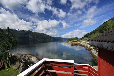 Lunden Ferie - Fjordidyllen 1 - Slinde - Apartamento