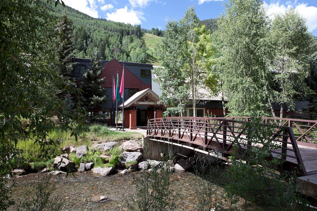 The home is located in a picturesque location of Telluride, right off the San Miguel River.