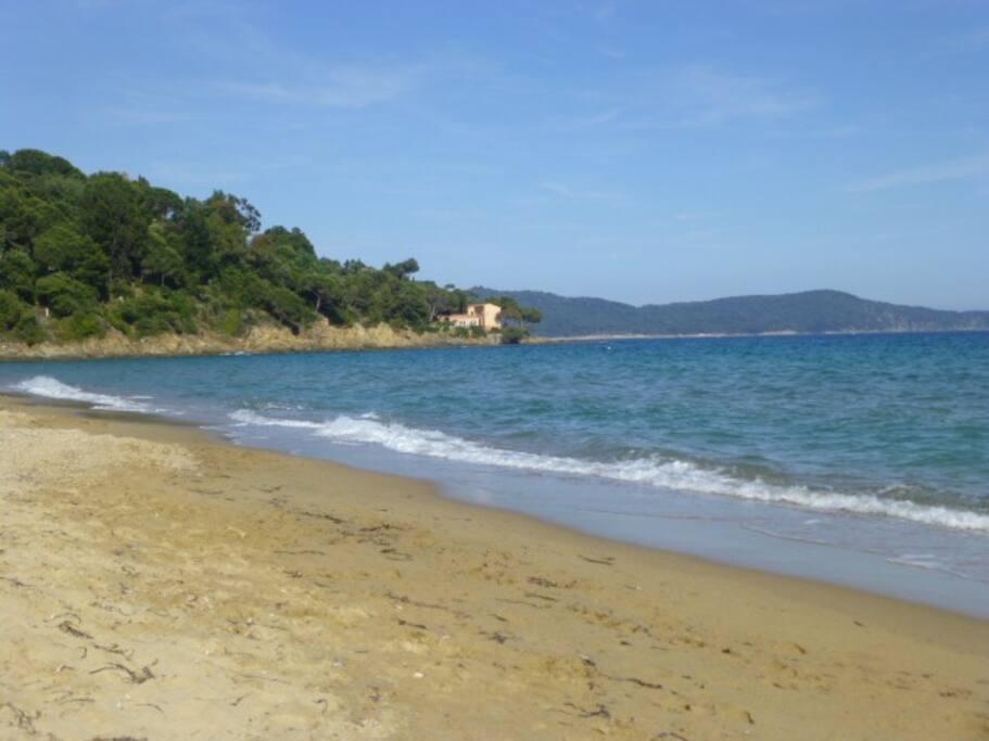 Strand (15 Minuten zu Fuß)