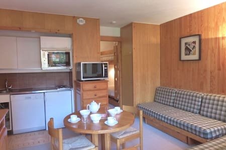 Studio for 4 persons in Meribel in the Altiport area close to the slopes and to the golf