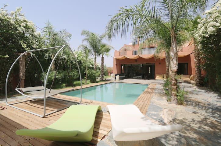 Villa d'architecte dans laPalmeraie - Marrakesch - Haus