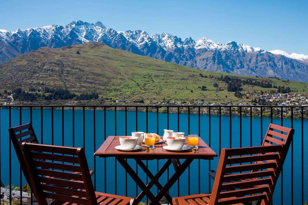A truly special place to start your day - breakfast with a view!