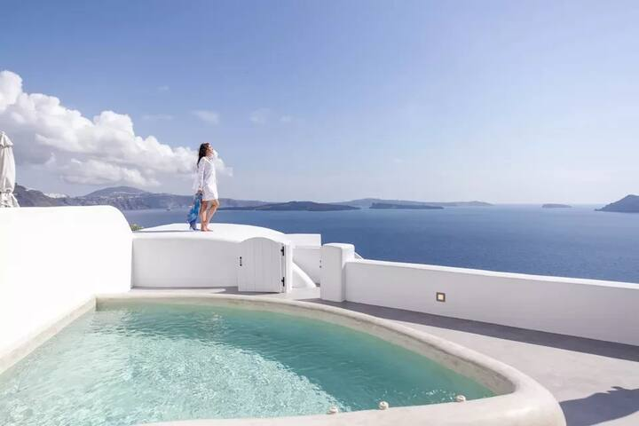 Suite Executive | Plunge Pool & Caldera View