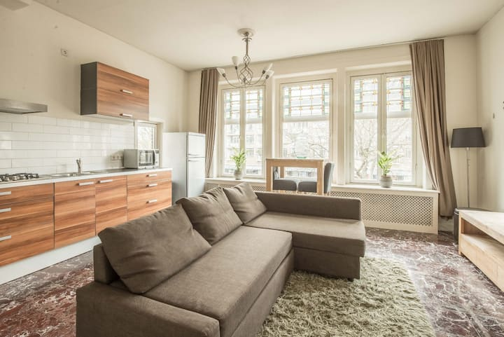 Apartment  A Centre Bussum 20 minutes to Amsterdam