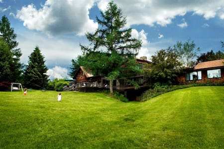 Sprawling Rustic Country Estate - Valatie - Dom