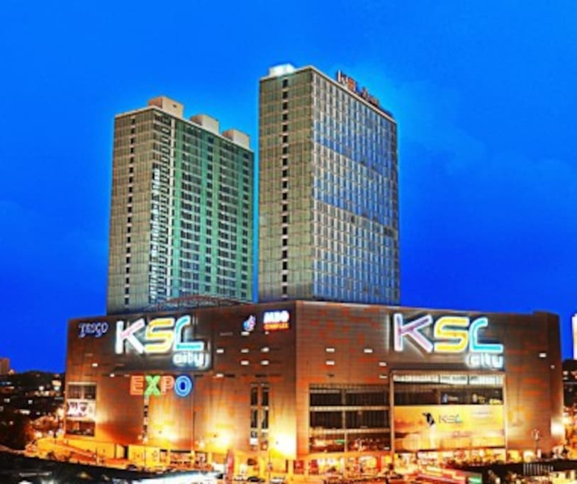 KSL City Mall (City & Sea View) Apartment