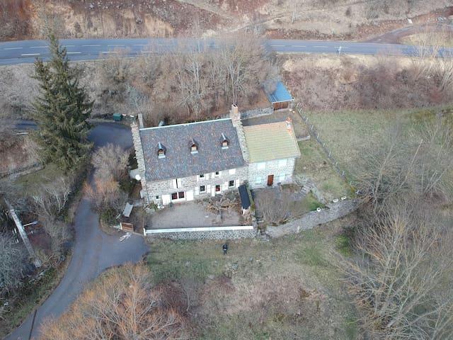 La maison d'Auvergne