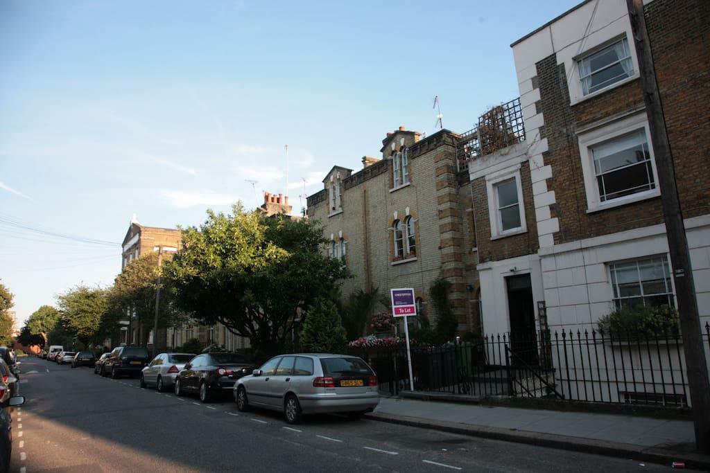 Lovely Victorian street