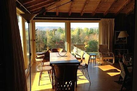 Cozy VT cabin with mountain views - Landgrove - House