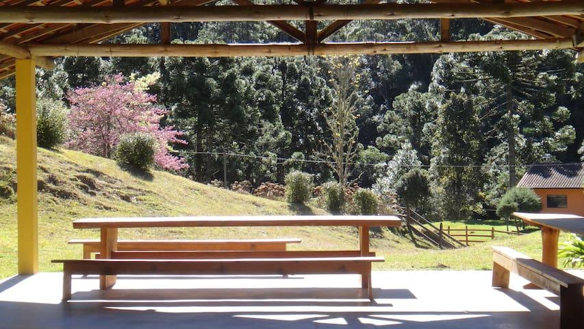 Chalé Campestre - Gonçalves - Blockhütte