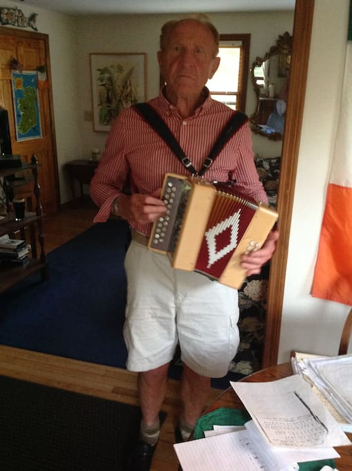This is my button accordion. I can belt out a few Irish tunes every now and then.