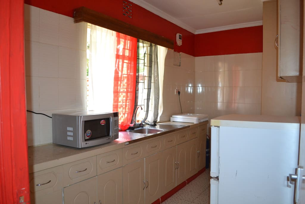 the kitchen for the 3 bedroom unit