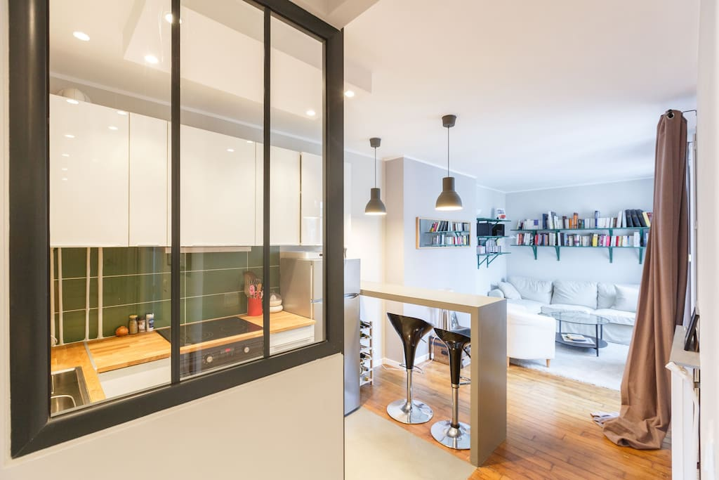 Charming apartment near paris appartements louer - Chambre d hote levallois perret ...