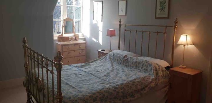 Double bedroom with separate private bathroom