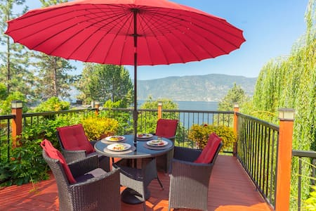 Beautiful Home on Okanagan Lake + Private Beach