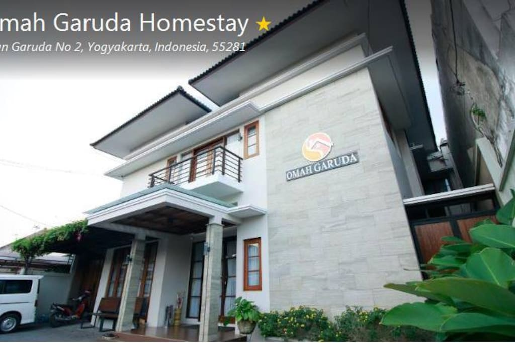 Logo Omah Garuda Homestay