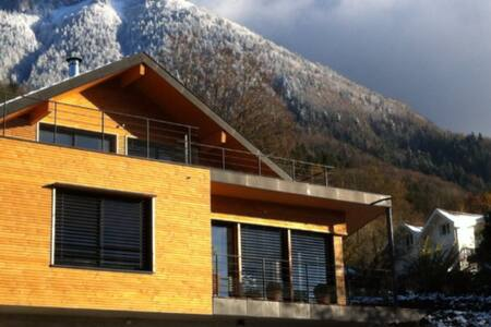 Gde chambre indépendante-terrasse - Bluffy, Haute-Savoie - Casa