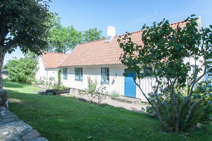 House by the beach on the Bjäre peninsula