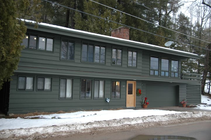 Adirondack guest lodging on the Raquette River. - Tupper Lake