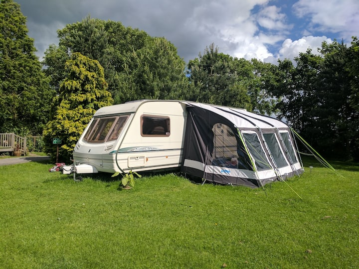 Touring caravan to rent near Skegness