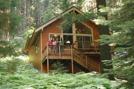 Beautiful cabin in a Sequoia Grove - Sequoia Crest